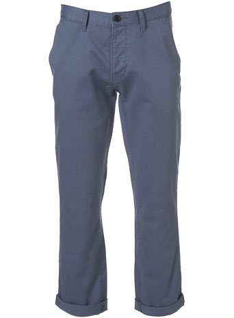 China Blue Slim Chinos - £28