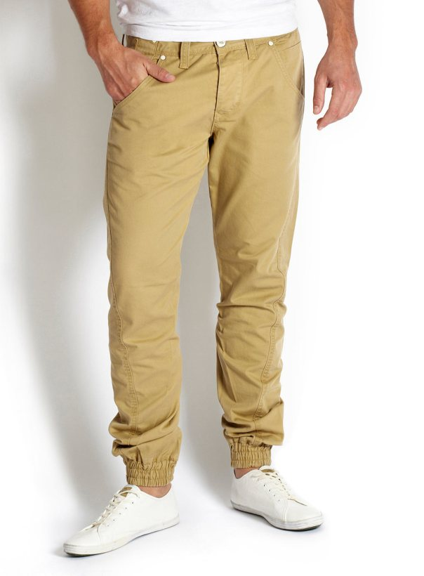 Cuffed Mustard Chino - Was £32.00    Now £25.00