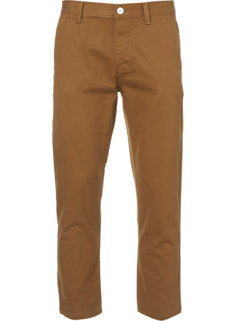 Bronze Ankle Grazer Chinos  -  Price: £28.00