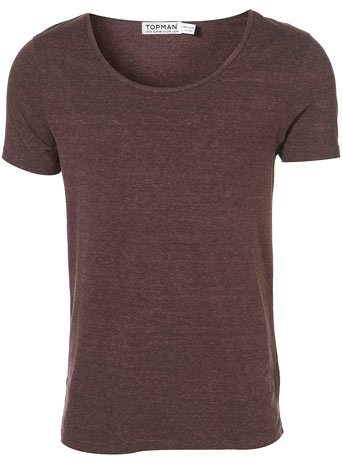 Burgundy Triblend Wash Crew - £14