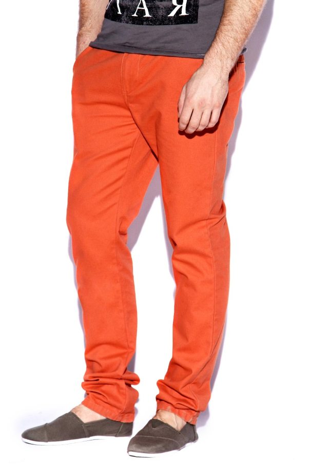 Clay Cotton Slim Chinos