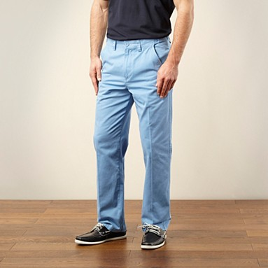 Light blue straight leg chinos @ £20